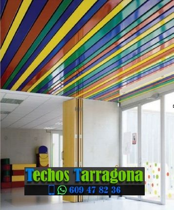 Empresas techos metálicos Tarragona Catalunya
