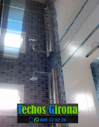 Instalación de techos de aluminio en Aiguaviva Girona