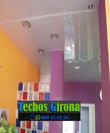 Instalación de techos de aluminio en Amer Girona