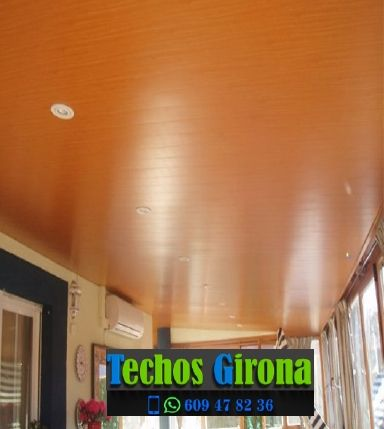 Instalación de techos de aluminio en Banyoles Girona