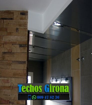 Instalación de techos de aluminio en Bescanó Girona