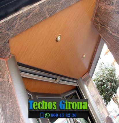 Instalación de techos de aluminio en Biure Girona