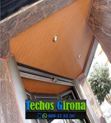 Instalación de techos de aluminio en Boadella i les Escaules Girona