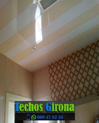 Instalación de techos de aluminio en Bordils Girona