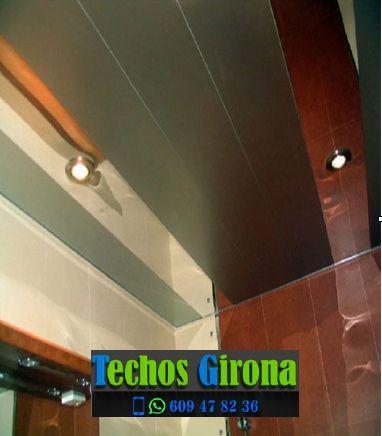 Instalación de techos de aluminio en Brunyola Girona
