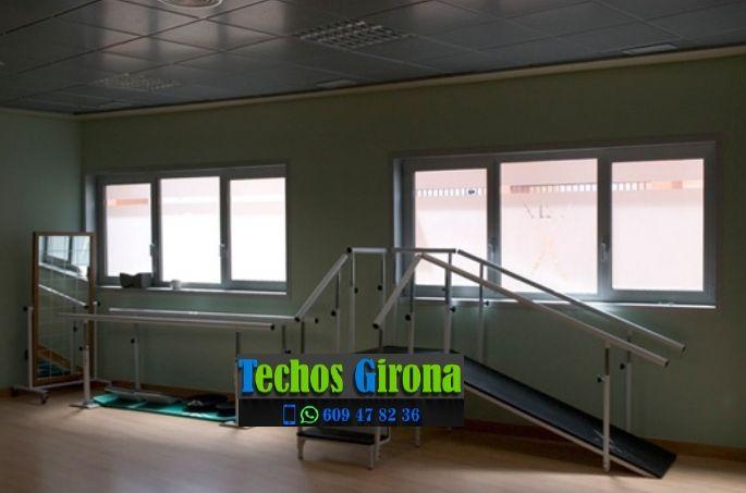 Instalación de techos de aluminio en Camós Girona
