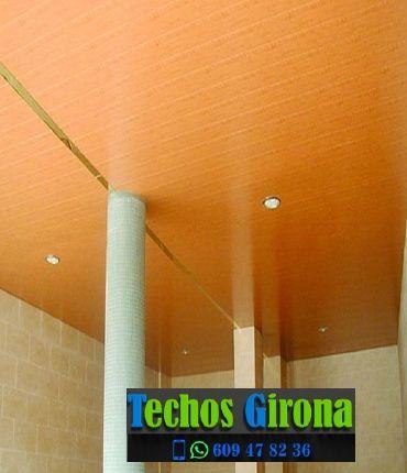 Instalación de techos de aluminio en Cassà de la Selva Girona