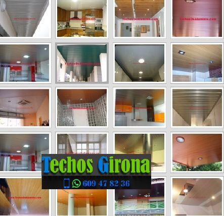 Instalación de techos de aluminio en Colera Girona