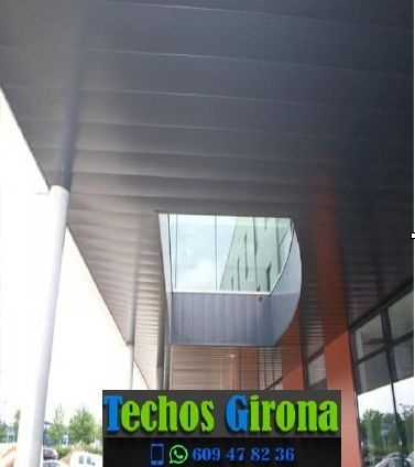 Instalación de techos de aluminio en Fontanilles Girona