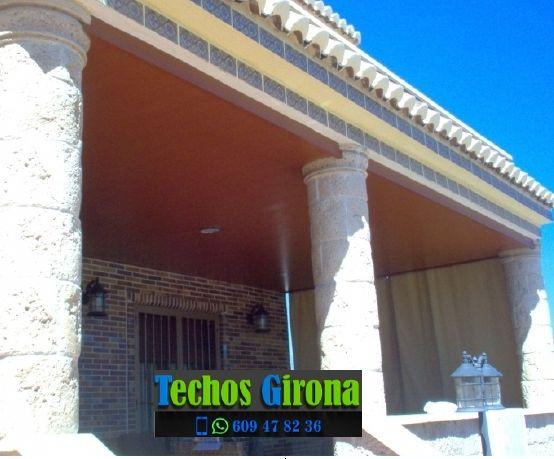 Instalación de techos de aluminio en Garrigoles Girona