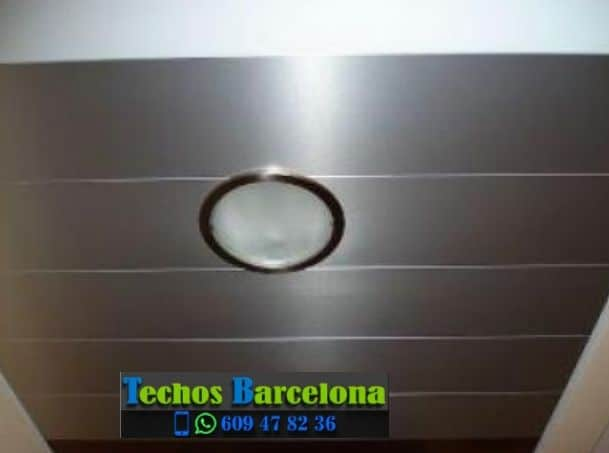Instalación de techos de aluminio en Horta Barcelona