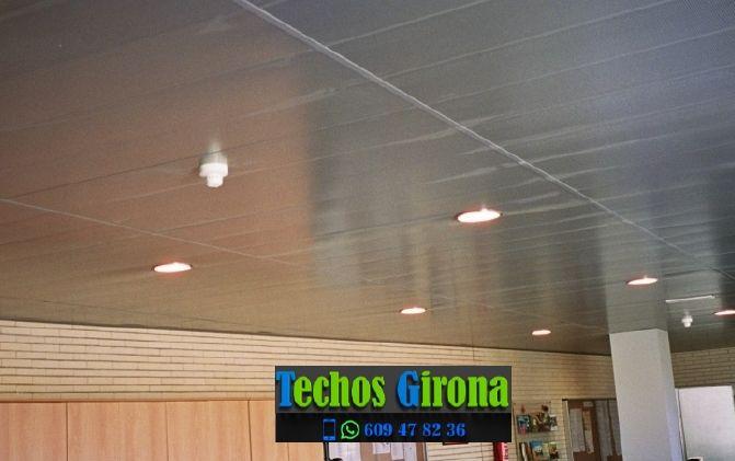 Instalación de techos de aluminio en Jafre Girona