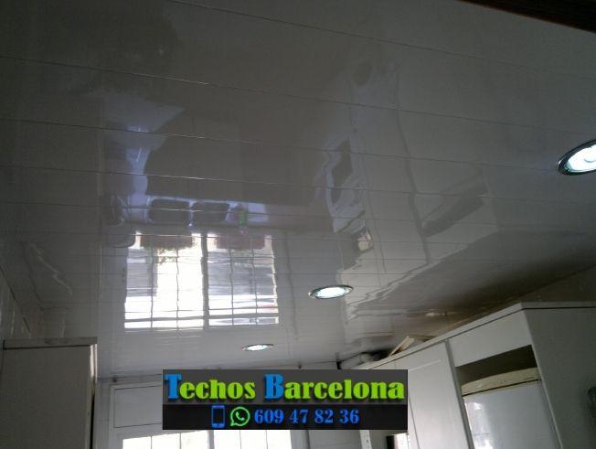 Instalación de techos de aluminio en La Font de la Guatlla Barcelona