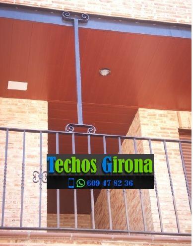 Instalación de techos de aluminio en La Jonquera Girona
