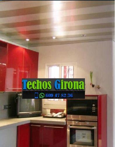 Instalación de techos de aluminio en Les Llosses Girona
