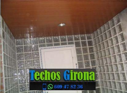 Instalación de techos de aluminio en Les Preses Girona