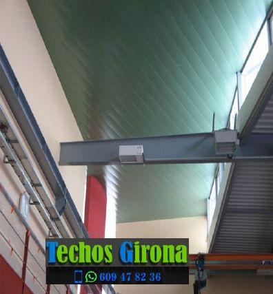 Instalación de techos de aluminio en Palau de Santa Eulàlia Girona