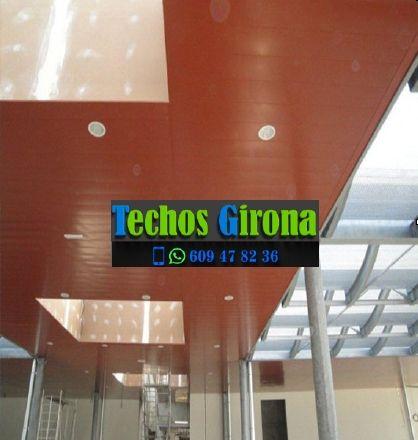 Instalación de techos de aluminio en Pals Girona