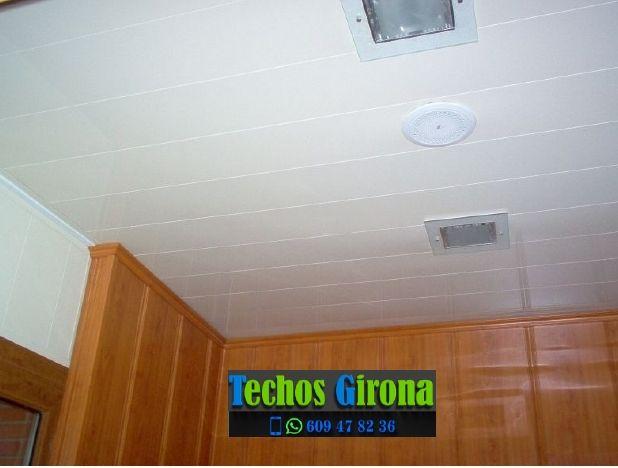 Instalación de techos de aluminio en Pedret i Marzà Girona