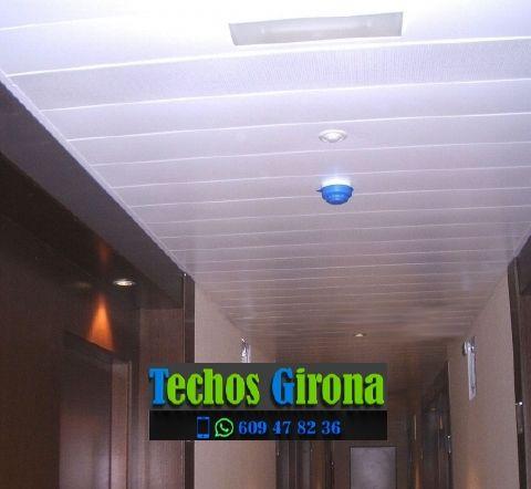 Instalación de techos de aluminio en Planoles Girona