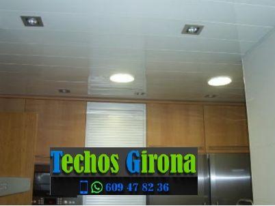 Instalación de techos de aluminio en Portbou Girona