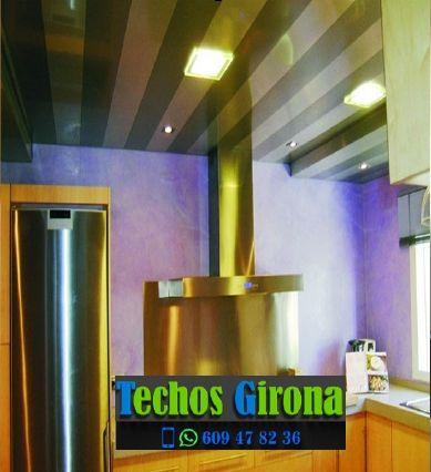 Instalación de techos de aluminio en Rupià Girona
