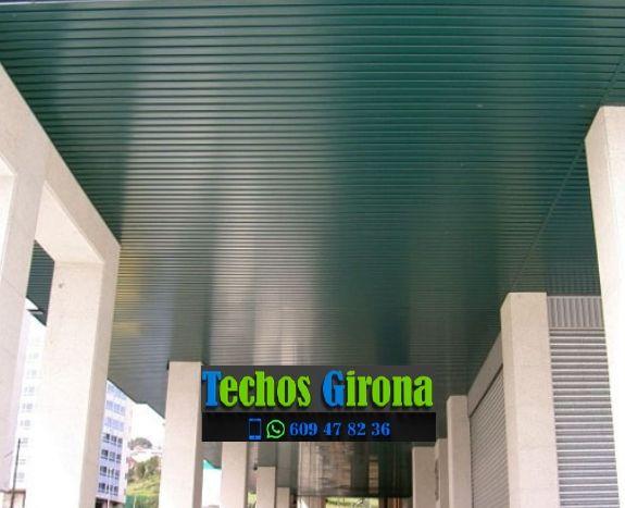 Instalación de techos de aluminio en Sant Aniol de Finestres Girona