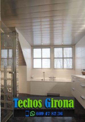 Instalación de techos de aluminio en Sant Jordi Desvalls Girona