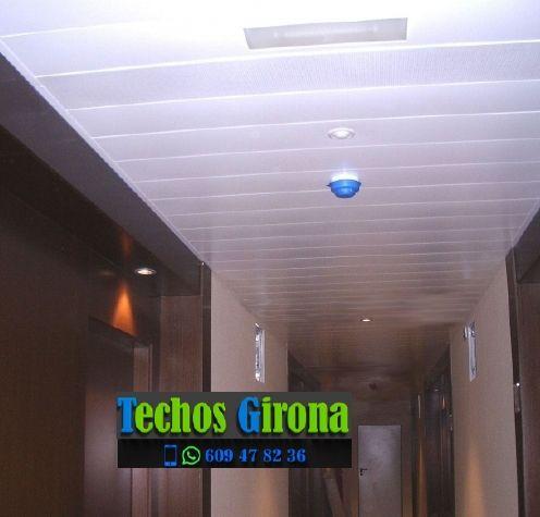 Instalación de techos de aluminio en Sils Girona