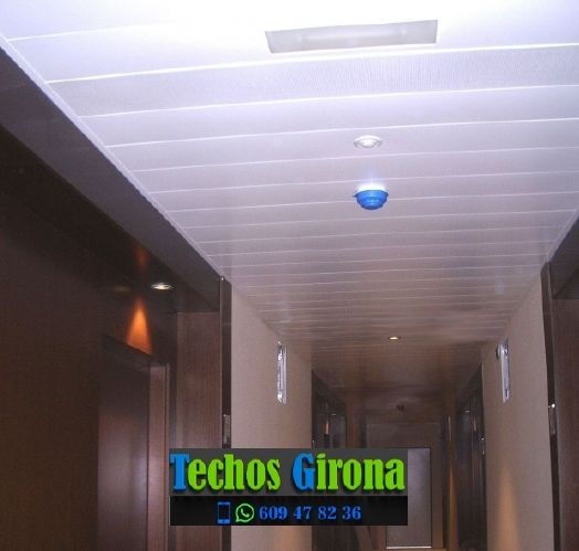 Instalación de techos de aluminio en Torrent Girona