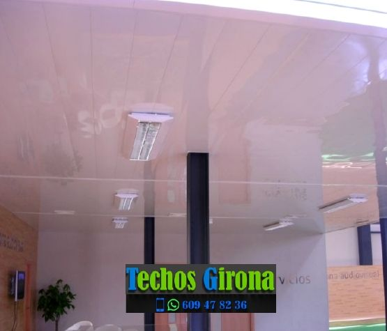 Instalación de techos de aluminio en Torroella de Montgrí Girona