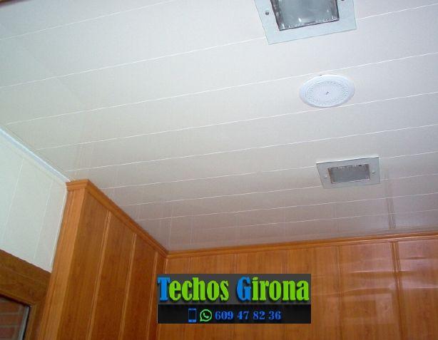 Instalación de techos de aluminio en Tortellà Girona