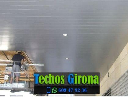 Instalación de techos de aluminio en Vilamacolum Girona