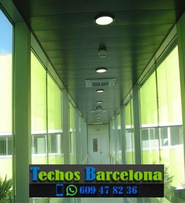 Montaje de techos de aluminio en Barcelona Catalunya