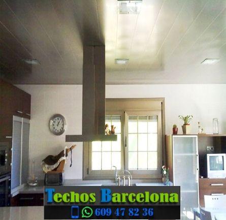 Montaje de techos de aluminio en Borredà Barcelona
