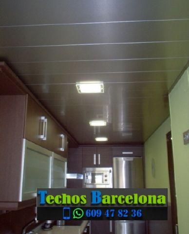 Montaje de techos de aluminio en Collbató Barcelona