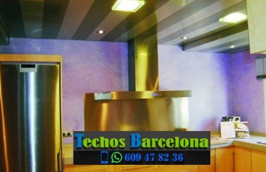 Montaje de techos de aluminio en El Gòtic Barcelona