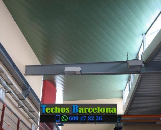 Montaje de techos de aluminio en Els Hostalets de Pierola Barcelona
