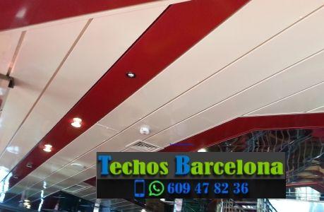 Montaje de techos de aluminio en Gràcia Barcelona
