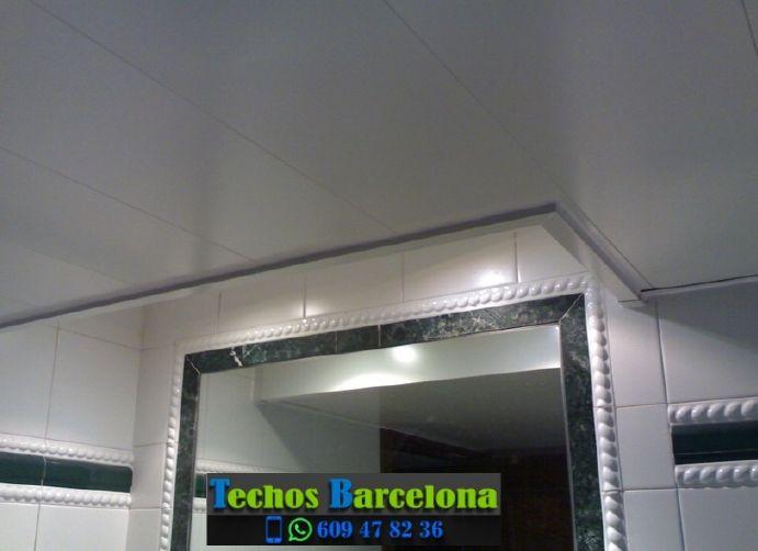 Montaje de techos de aluminio en La Vila Olímpica del Poblenou Barcelona