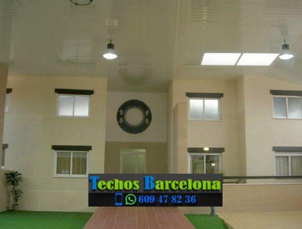 Montaje de techos de aluminio en Moià Barcelona
