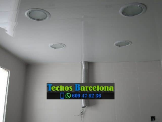 Montaje de techos de aluminio en Muntanyola Barcelona