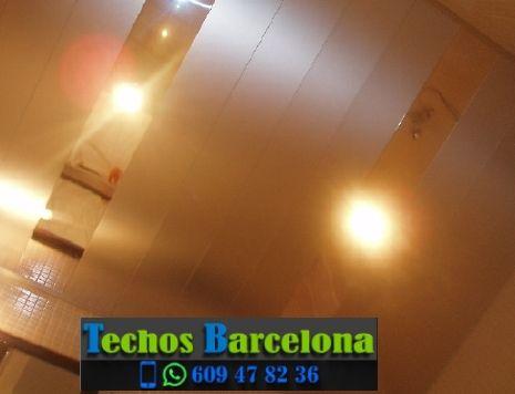 Montaje de techos de aluminio en Santa Caterina Barcelona