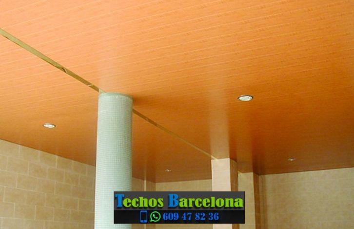 Montaje de techos de aluminio en Vallgorguina Barcelona