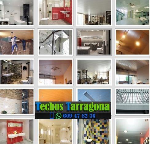 Montajes de techos de aluminio en Almoster Tarragona