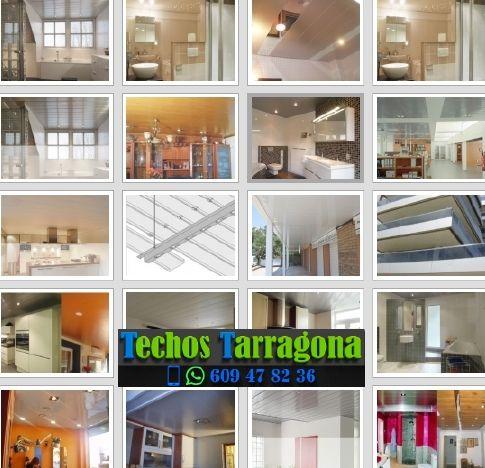 Montajes de techos de aluminio en Arbolí Tarragona