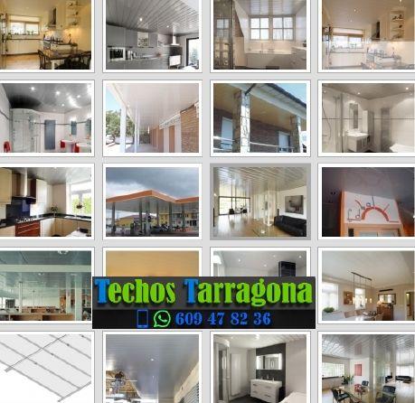 Montajes de techos de aluminio en Arnes Tarragona