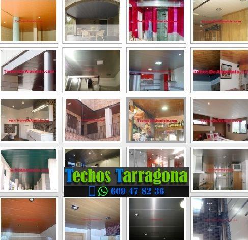 Montajes de techos de aluminio en Ascó Tarragona