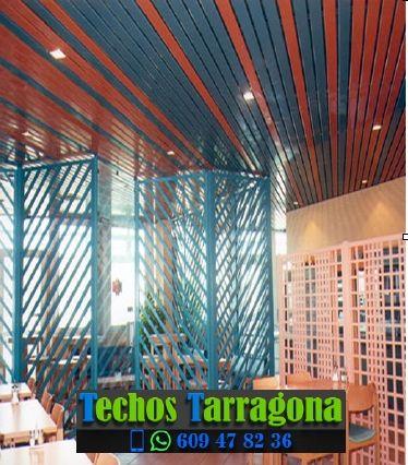 Montajes de techos de aluminio en Benissanet Tarragona