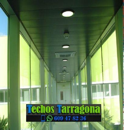 Montajes de techos de aluminio en Bot Tarragona